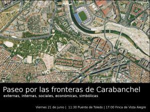 Paseo fronteras - Cartel - Baja