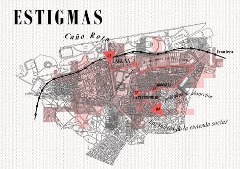 Mapa paseo ESTIGMAS 150pp