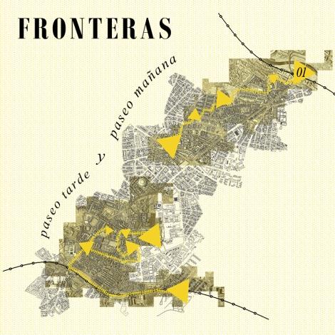 Mapa paseo FRONTERAS 150pp